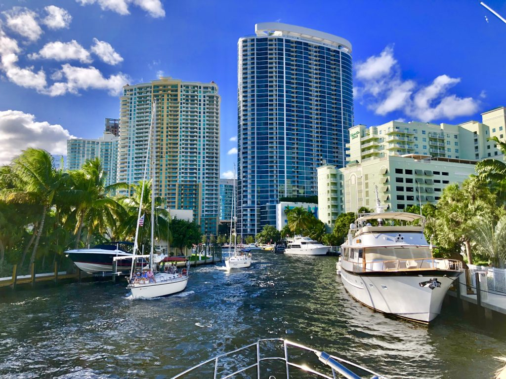 Boating in Fort Lauderdale